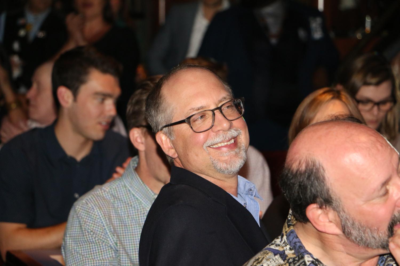 Martin Mueller laughs